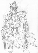 Clone Trooper Wars Star Arc Drawings Pages Coloring Deviantart Drawing Troopers Commander Cody Kuk 501st Colouring Order Sketch Template Favourites sketch template