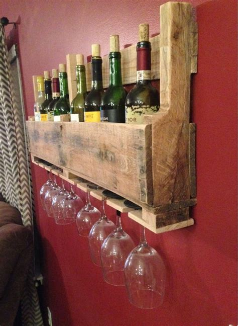 how to make a wine rack out of a pallet how to make a wood pallet wine rack 22 diy plans guide