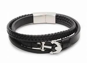 Bracelet Homme Marque Italienne : bracelet en cuir homme marque bijoux populaires ~ Dode.kayakingforconservation.com Idées de Décoration