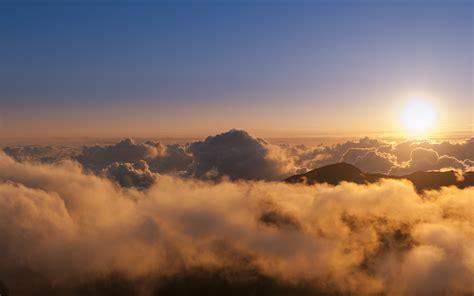 唯美天空电脑壁纸_唯美天空云层_风景壁纸_