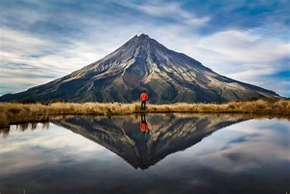 Zealand Air Taranaki Lake Volcano Airline Named
