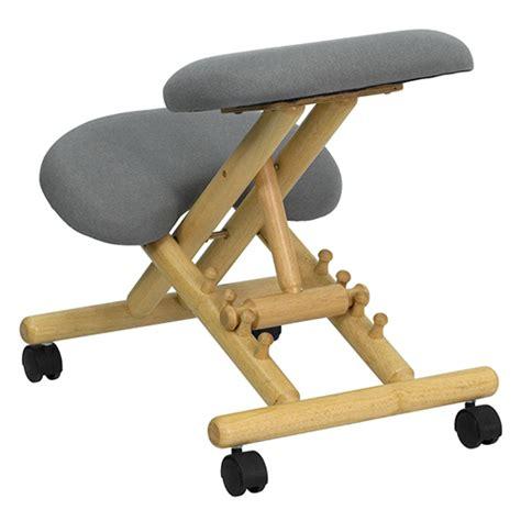 sit4life kneeling chair wooden ergonomic wl sb