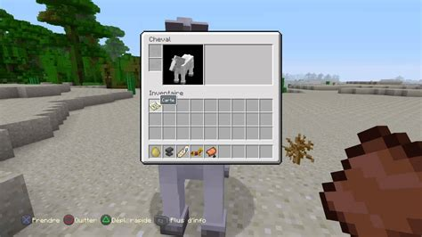 comment monter sur un cheval minecraft minecraft monter sur un cheval sur ps4