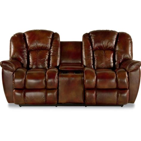 Reclining Loveseat With Middle Console by La Z Boy Inc Loveseats Maverick Powerreclinexrw