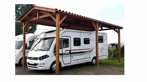 Carport Camping Car : carport camping car mod le bourgogne auvents carports ~ Dallasstarsshop.com Idées de Décoration
