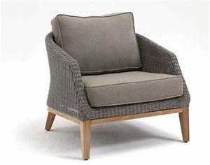 Polyrattan Lounge Sessel : destiny sessel harper island loungesessel polyrattan teak garten ~ Orissabook.com Haus und Dekorationen