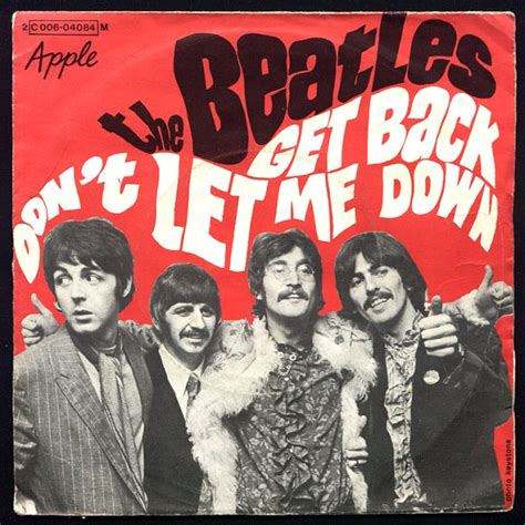 Love song lyrics for:dont let me down-the beatles with chords.