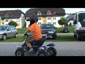 Quad Elektro Kinder : elektro kinder quad 350w youtube ~ Jslefanu.com Haus und Dekorationen