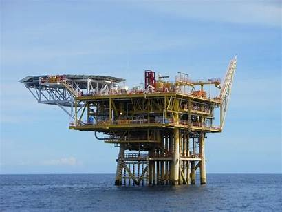 Platform Offshore Sarawak Petronas Production J4 Sko