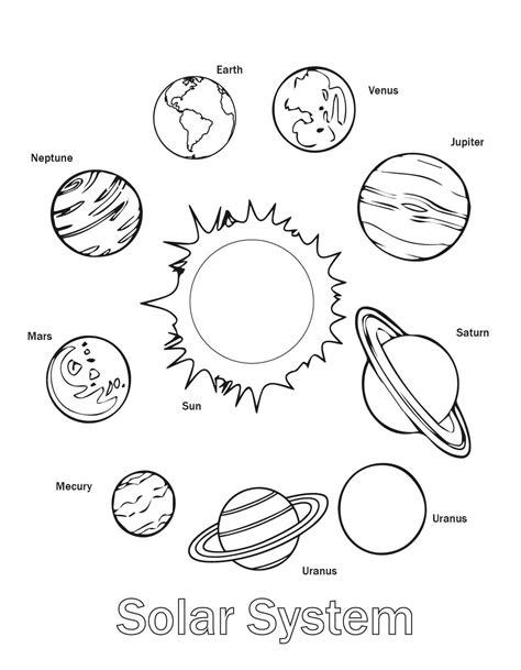 uranus planet worksheet free printable solar system coloring pages for