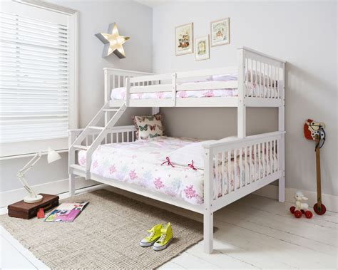 bunk bed mattresses at big sleeper bed bunk bed bed in white ebay