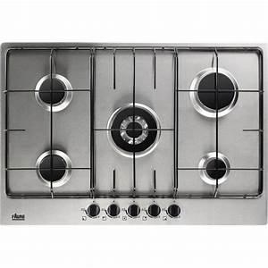 Plaque De Cuisson Gaz Conforama : plaque de cuisson gaz 5 foyers inox faure fgg75524xa ~ Melissatoandfro.com Idées de Décoration