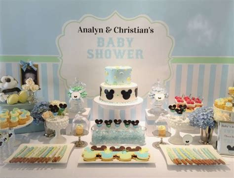 Mickey Mouse Decorations For Baby Shower - baby shower ideas baby mickey mouse baby shower
