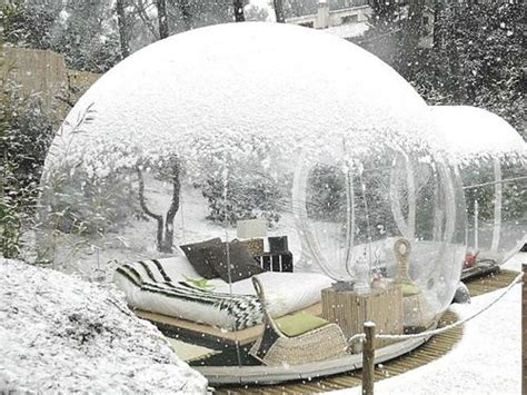 Outdoor Bubble Room (maybe Inflatable?)  H O M E