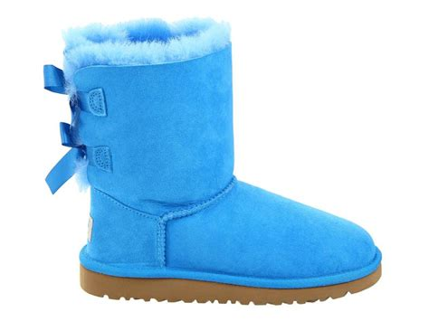 light blue uggs with bows unique colored uggs