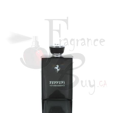 It smells like 100 but not couple of 100 dollars overall for the price it's a great one to wear whenever without hesitation! Fragrancebuy.ca — Ferrari Vetiver Essence Man Cologne   Best Price, Fragrancebuy Canada
