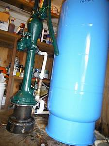 Had A Manual Well Pump Installed