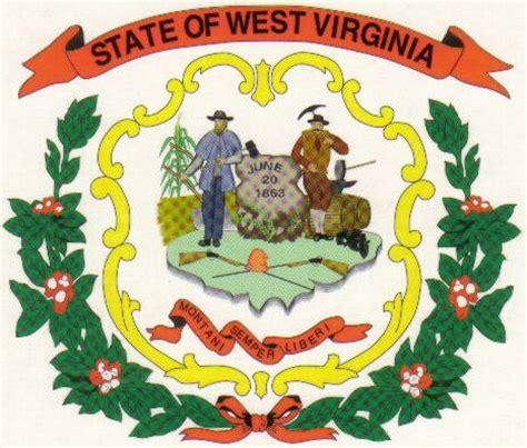 west virginia coat  arms crest  west virginia