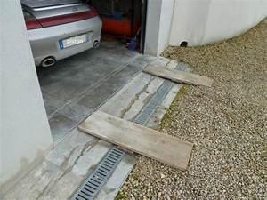 entree de garage en pente evtod With entree de garage en pente