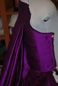 how to make a sack back gown how to pinterest With robe sac