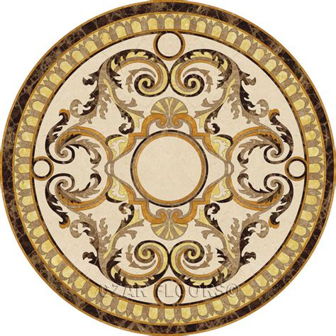 wall tile medallions stone medallions collection wall and floor tile philadelphia by czar floors