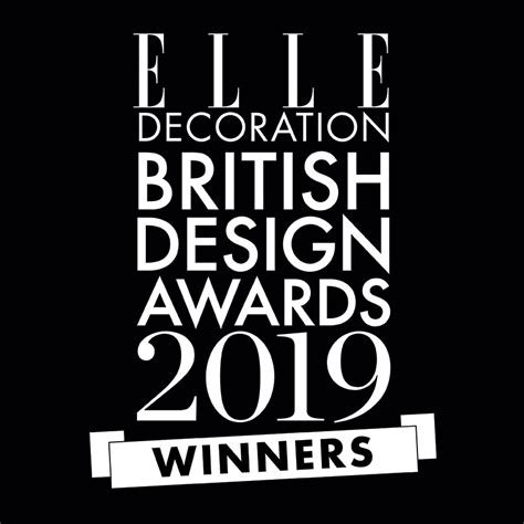 elle decoration british design awards  winners