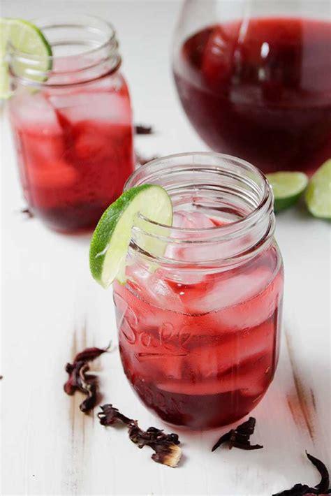 blood pessure  hibiscus tea recipe plant based