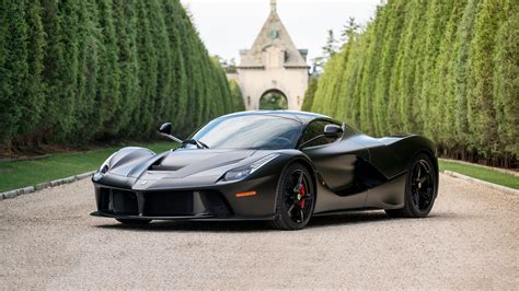 Introduced in 2013, the ferrari la ferrari represents ferrari's most ambitious project. Matte black LaFerrari 'horse from hell' sells for $4.7M at auction