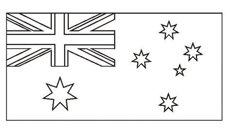 australia flag colors australia flag coloring page sketch coloring page