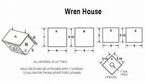 PDF Woodwork Wren Bird House Plans Download DIY Plans
