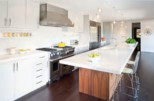 Remodeling Kitchen Island White Kitchen Remodeling With Table Like Island With Sink