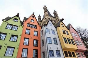 Häuser In Deutschland : alte bunte h user in der stadt k ln in deutschland stockfoto bild 47997980 ~ Eleganceandgraceweddings.com Haus und Dekorationen