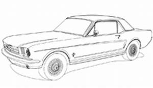 mustang coloring pages fastbackstackllc With 1972 ford falcon gt