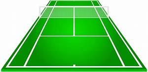 Tennis court clipart - Clipground