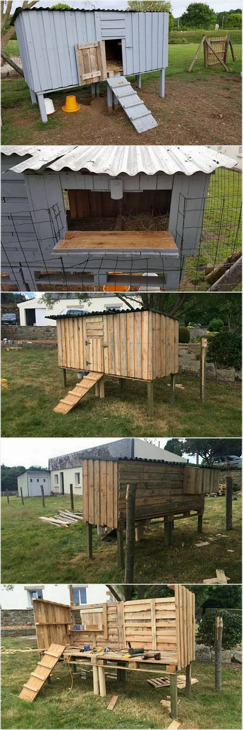 made out of pallets chicken coop made out of shipping wood pallets pallet