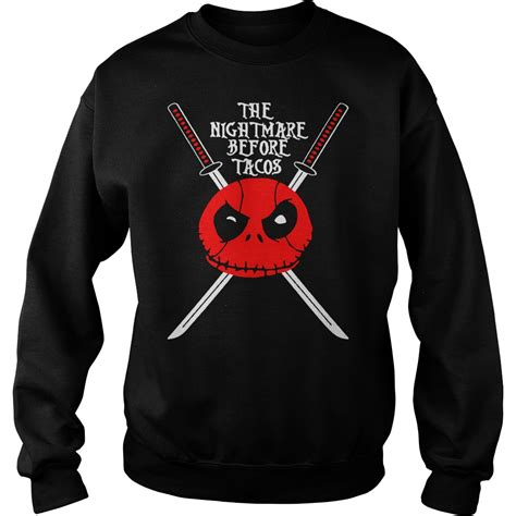 nightmare before sweater the nightmare before tacos sweater and hoodie