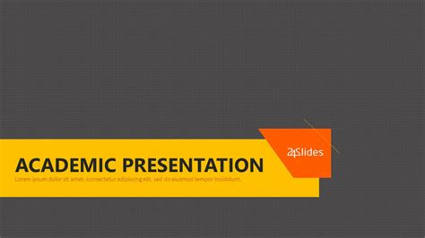 academic   powerpoint template