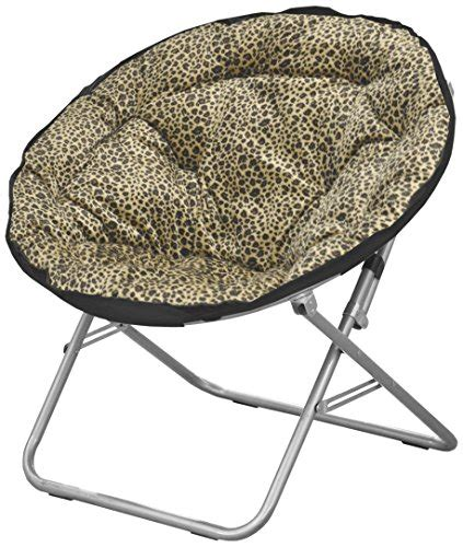 shop leopard faux fur saucer chair rings n rollers