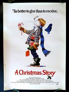A CHRISTMAS STORY * CineMasterpieces 1SH ORIGINAL MOVIE ...
