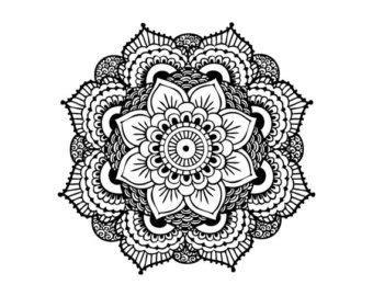 tatouage poignet mandala dessin