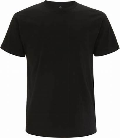 Schwarz Co2 Neutral Organic Shirts 5er Pack
