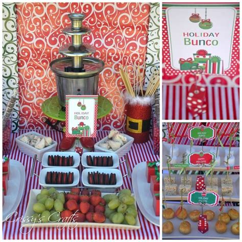 holiday bunco christmas holiday party ideas