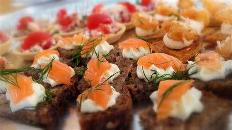 canape and bbq 39 s for corporate catering made by