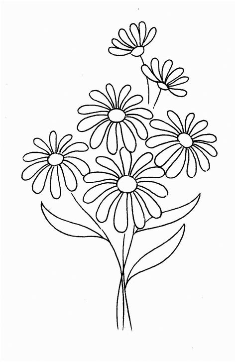 daisy coloring pages  coloring pages  kids