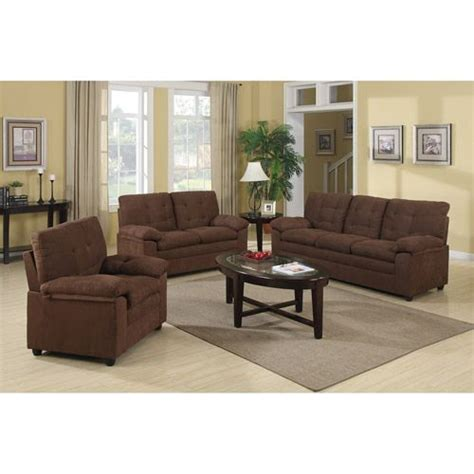 buchannan microfiber  piece living room set furniture