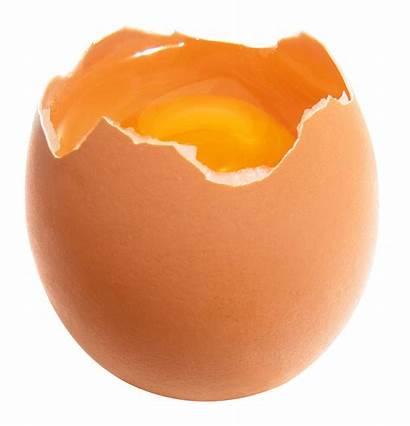Transparent Eggs Broken