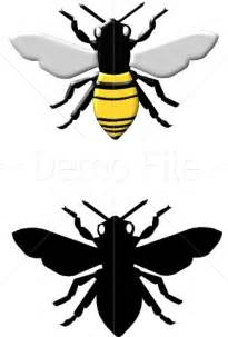 Honey Bee Silhouette Clip Art