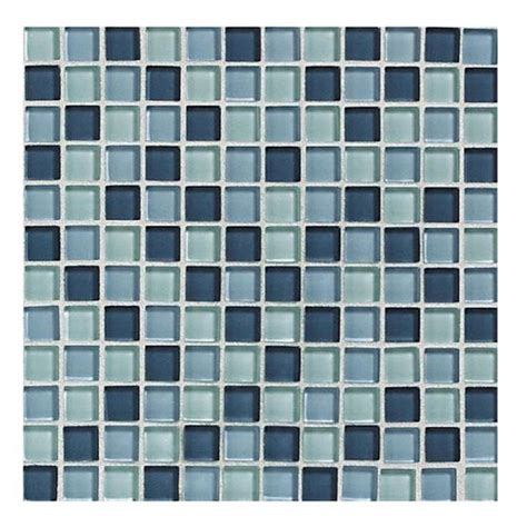 American Olean Mosaic Tile Canada by American Olean Delfino Glass Blues Glass Mosaic