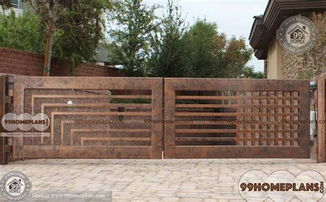 Home Design Gate Ideas by Modern Front Gate Design Ideas With Simple Stylish And