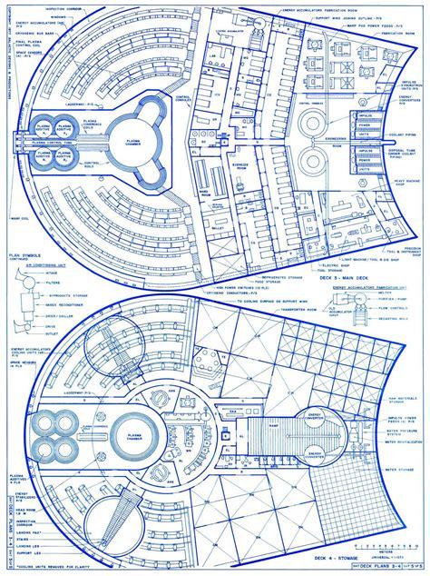 star trek blueprints romulan bird  prey cruiser